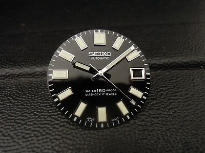 $ CDN78.26 • Buy New Black Glossy 62mas Style Dial & Hands Fits Seiko Skx031/skx007 Diver's Watch