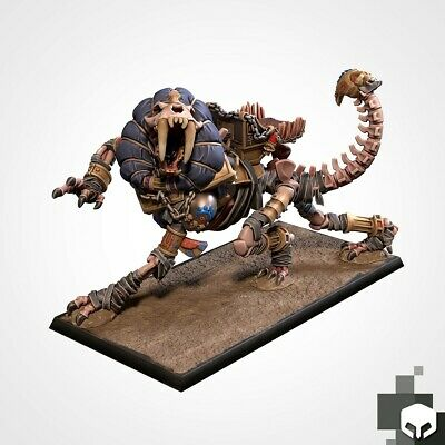 Armies Of The Sand : Battle Sphinx Miniature Tomb Royalty Proxy • 14£