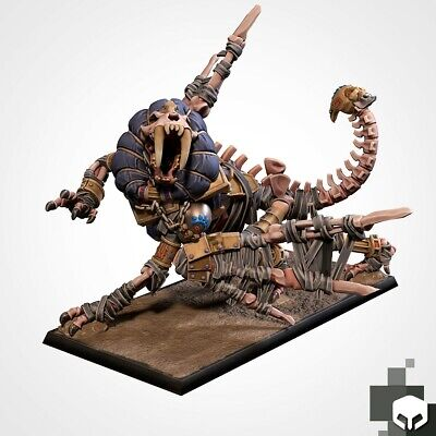 Armies Of The Sand : Dread Sphinx Miniature  Tomb Royalty Proxy 3D Resin Printed • 14£