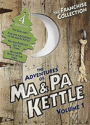$4.99 • Buy The Adventures Of Ma And Pa Kettle - Volume 1 One - NEW FACTORY SEALED