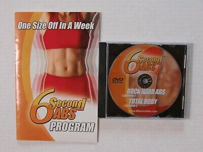 AU16.51 • Buy 6 Second ABS Workout DVD, Exercise And Diet Program Booklet