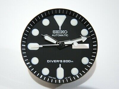 $ CDN27.77 • Buy New Replacement Seiko Black Dial,minute Track,hands Fits Seiko Skx007 Diver's