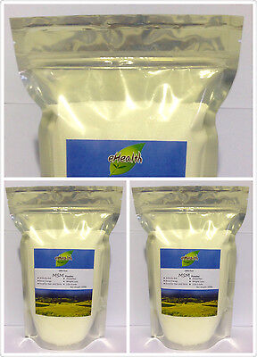 AU39 • Buy MSM Powder 3kg - Arthritis Aid, Pharmaceutical Grade - 99.9% Pure