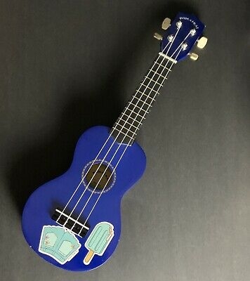 AU25.79 • Buy POMAIKAI Wood Ukulele Uke Hawaii Kids Navy Blue