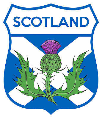 Scotland Car Truck Motorcycle Sticker Car Decal Sticker Badge   • 2.50£