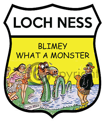 Loch Ness Car Truck Motorcycle Sticker Car Decal Sticker Badge Scotland  • 2.50£