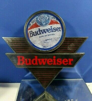 $ CDN31.79 • Buy Budweiser Plastic Sign Wall Hanging Not Lighted Collectible