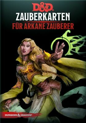 AU68.24 • Buy Dungeons & Dragons Magic Cards For First Magician (German) Cards Spell D & D