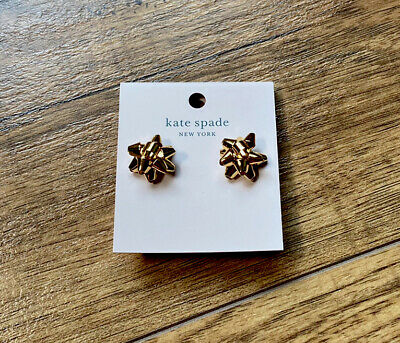 $ CDN50 • Buy Kate Spade New York Gold Bourgeois Bow Earrings New