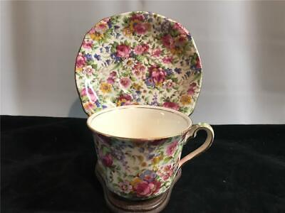$ CDN25.31 • Buy Royal Winton Grimwades Summertime Chintz Cup & Saucer 775