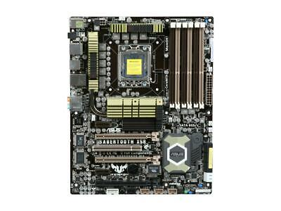 $ CDN278.69 • Buy For ASUS SaberTooth X58 LGA1366 DDR3 ATX Motherboard Tested