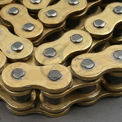 AU40.68 • Buy O-Ring Drive Chain Gold 530 Pitch 130 Link Fit For Suzuki GSXR 1000 2001-2010 09