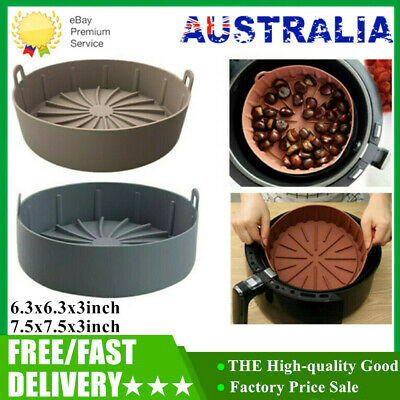 AU31.99 • Buy 2021 Air Fryer Silicone Pot Multifunctional Air Fryers Oven Accessories AU #