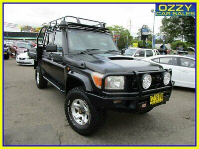 AU58950 • Buy 2014 Toyota Landcruiser VDJ79R MY12 Update Workmate (4x4) Graphite Manual 5sp M