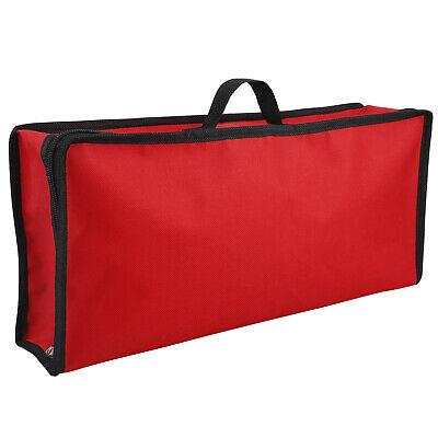 Wrapping Paper Storage Bag Rolls And Ribbon Holder Heavy Duty Tear Proof Red • 16.23£