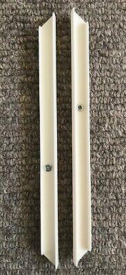 PAIR OF IKEA TROFAST DRAWER UNIT RUNNER RAILS & SCREWS - SIZE 282mm PART 120055 • 6.99£