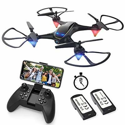 AU125.44 • Buy E38, Drones With Camera For Adults Long Flight Time, WiFi FPV Quadcopter
