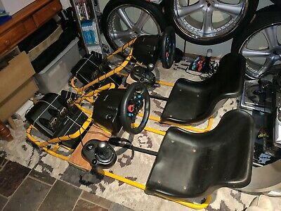 AU1000 • Buy 2x Logitech Racing Sim G29 Wheel + Pedals + Shifter + Hyperdrive 100RS