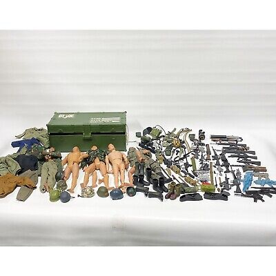 $ CDN190.74 • Buy Large Lot Vintage GI Joe 12  Action Figures Clothing Weapons Accessories - As Is