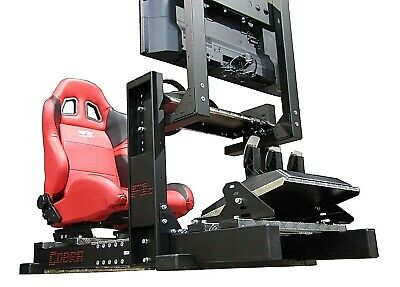 COBRA F1c RACING SIMULATOR COCKPIT For Fanatec Thrustmaster Logitech PC PS4 XBOX • 750£