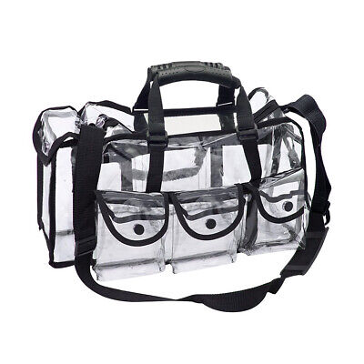 £12.30 • Buy Large Clear PVC Travel Cosmetic Bag Waterproof Toiletry Case Makeup Wash Pouch