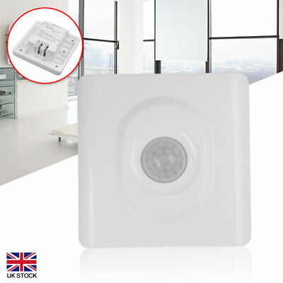 Automatic Infrared PIR Body Motion Sensor Switch For LED Light Wall Mounted UK • 8.34£