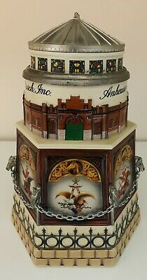 $ CDN72.58 • Buy Budweiser Cb11  Clydesdale Stable  Lidded Membership Stein 1999 By Ceramarte