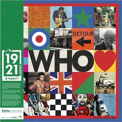 The Who: WHO (hmv Exclusive) 1921 Series 2LP. Limited Edition Nipper1 NEW SEALED • 29.50£