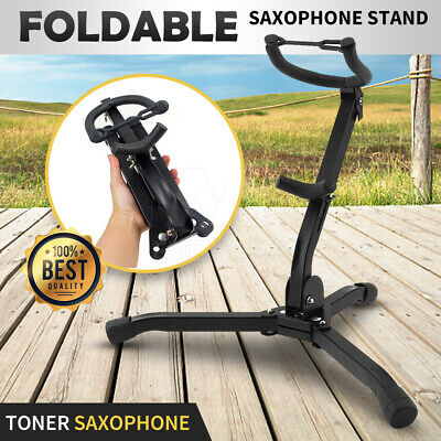 AU26.95 • Buy NEW Saxophone Stand Tripod Folding Holder For Alto Tenor Sax Portable GIFT