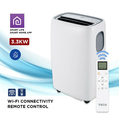 AU859.97 • Buy TECO Portable Reverse Cycle Air Conditioner Cooling Heating 3.3kW Window Kit