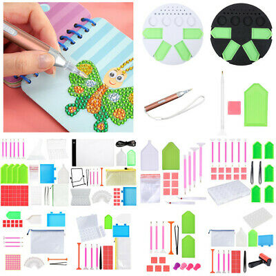 AU11.99 • Buy 5D DIY Diamond Painting Cross Stitch Craft Tool Art Embroidery Accessories Kits