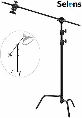AU196 • Buy C Stand Photography 10ft Adjustable Light Stand For Photo Studio Video Reflector