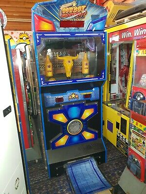 Coin Operated Cowboy Shootout Ticket Arcade Machine • 1,100£