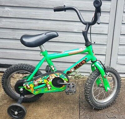 Concept Monkey Bike With Stabilisers 12  Wheels RARE Vintage Free Delivery • 59.99£
