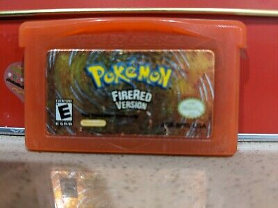 AU140 • Buy Pokemon FireRed Version GENUINE GameBoy Advance GBA 🇦🇺seller - Free Postage