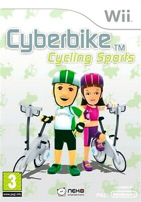 CyberBike Cycling Sports (Game Only) Nintendo Wii Game PAL UK • 12.95£