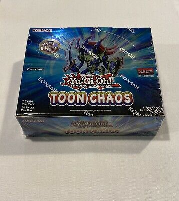Yugioh Toon Chaos Booster Box TOCH - 1st Edition - Brand New Sealed • 165£