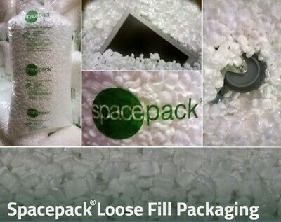 £17.50 • Buy Packing Peanuts Premium S-Shape Polystyrene Loosefill Void Fill