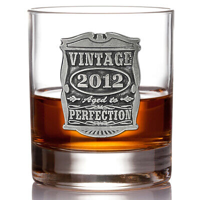 Vintage Years 2011 10th Anniversary Gift Whisky Glass Tumbler (VIN007) • 22£