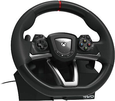 Xbox One Steering Wheel And Pedal Set Racing Gaming Simulator Driving PC Real UK • 142.99£