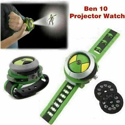 UKstock Ben10 Ten Alien Force Projector Watch Omnitrix Illumintator Bracelet Toy • 6.88£