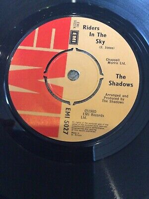 "The Shadows - Riders In The Sky    Used 7"" Single Record  • 2.49£"