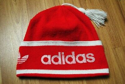 Rare Retro Vintage Very Old 70s-80s Adidas Orlon West Germany Red Hat Cap • 28.67£