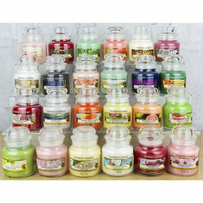 £11.99 • Buy Yankee Candle Small Jar Various Fragrances -  You Choose  - FAST & FREE POST