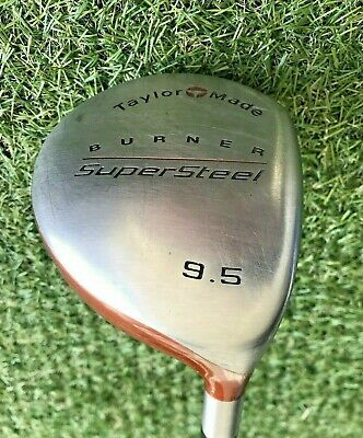 Taylormade Burner Supersteel Driver / 9.5 Degree / R80 Bubble Shaft • 34.99£