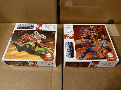 $39.99 • Buy Mattel He-Man MOTUC Masters Of The Universe 500 Piece Puzzle With Mini Poster