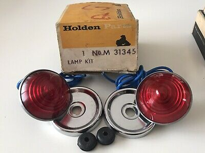 AU299 • Buy Nos Nasco Holden Fj Special Tail Light Lenses & Bezels