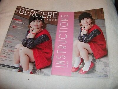 Bergere De France Knitting Pattern Magazine ~ No. 168 ~ 2 - 12 Years Collection • 4.25£