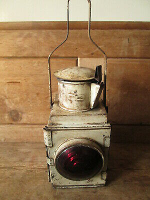 BR Railway Signal Lamp.Ralwayana.British Rail. Railway Lamp. • 95£