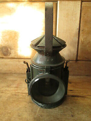 Railway Lamp. Railwayana. British Rail. Railway Lamp.3 Way Signal Lamp • 95£